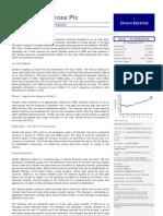 Ocean Equities Broker Note - Condor Resources