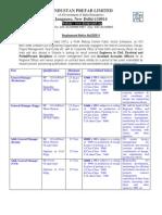 Employment Notice 22 2011