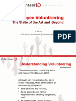 Volunteer Id Exchange 1 EV TheStateoftheArt&Beyond