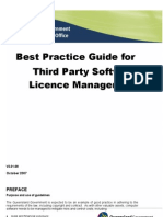 Best Practice Guide for Third Party Software Licence Management Copy