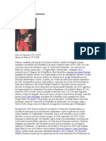 Biografia Masónica Guzman Blanco