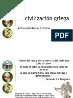 Antecedentes Civilización   Griega