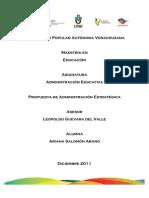 Propuesta administrativa1