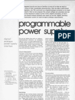 7 Nov 1983 Programmable Power Supply