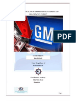GM - General Motors Project