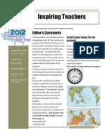 Newsletter -Jan 2012