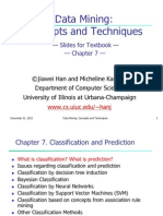 Chapter 7 Classification and Prediction 3735