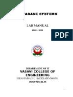 NEW DBMS Lab Manual