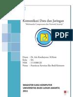 Tugas Kuliah Komunikasi Data dan Jaringan Komputer