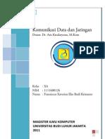 UAS Komunikasi Data dan Jaringan