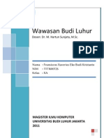 Ujian Akhir Kuliah Matrikulasi - Wawasan Budi Luhur