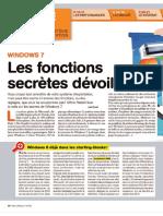 Windows7 - Fonctions Secretes