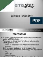 7.13301400 MEMSstar Semicon Taiwan 2011