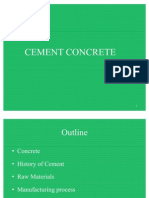 1.Constitutents of Concrete and Cement Production