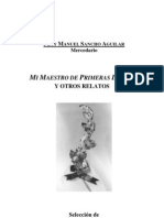 Fray Manuel Sancho - Mi Maestro de Primeras Letras