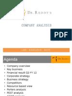 Strategic Analysis of Dr._reddys