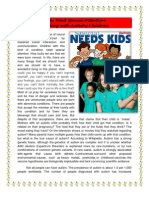 Dealing With Autistic Children by Ms. Gavia