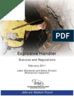 Explosive Handling Stats Regs