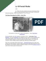 A Brief History of Social Media Oleh Brett Borders Upload by Abdul Murad Abd Hamid