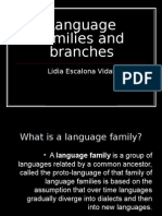 Language Families and Branches