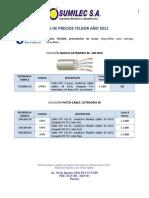 LISTA PUBLICO TELDOR 2011