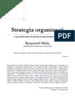 Krzysztof Obloj Strategia Organizacji