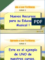 Curso de Lectura de Partituras PDF