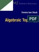 Algebraic Topology EMS Textbooks in Mathematics