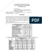 Analisis y Diseño presa SORAGA