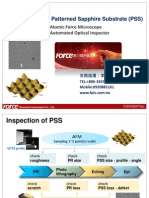 12._15301600_The Inspection of Patterned Sapphire Substrate_Semicon Taiwan 2011