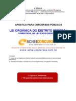 Lei Organica-DF Comentada