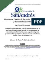 Tesis Interoperabilidad Mavrommatis