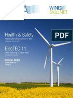 Health Safety and ElecTEC 11 Programme