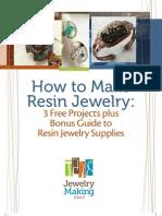 Free Resin Jewelry Making eBook