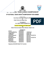 National Championships 2012 at Goa