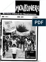 Evita Montonera, nº 04, abril 1975