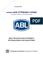 ABL Investor Brief