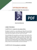 Rousseau, Jean-Jacques - El Contrato Social