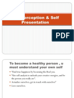 Self Perception & Self Presentation