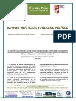 INFRAESTRUCTURAS Y PROCESO POLÍTICO - INFRASTRUCTURES AND POLITICAL PROCESS (Spanish) - AZPIEGITURAK ETA PROZESU POLITIKOA (Espainieraz)