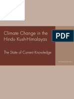 Icimod-climate Change in the Hindu Kush-himalayas
