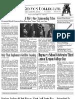 Kenyon Collegiate Issue 3.12