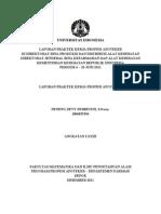 PDF Laporan PKPA Di Kemkes