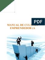 MANUAL de Cultura Emprendedora