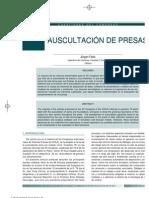 AUSCULTACIÓN DE PRESAS