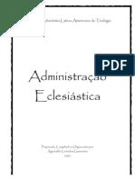 ALG - Apostila de Administração Eclesiástica