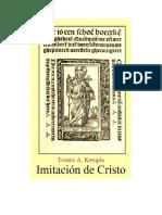 Tomas a. Kempis - Imitacion de Cristo Rtf