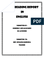 Home Reading Report