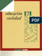 Educación y Sociedad, nº 07, 1990