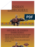 Indian Embroidery Ppt